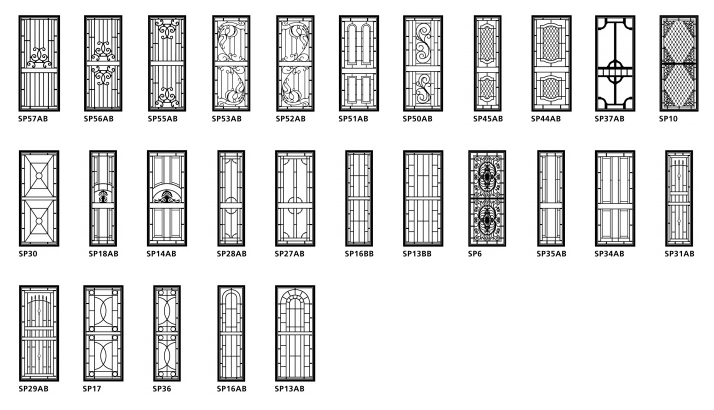 heritage doors styles