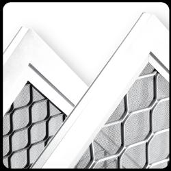 screen welded corners